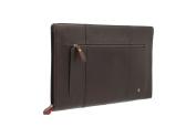 Visconti Merlin Collection HANZ Leather Document Holder / Folio Case ML26 Brown