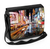New York Times Square Laptop Messenger Bag