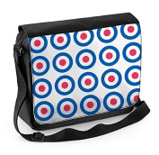 Mod Target Laptop Messenger Bag