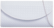 UKFS Ladies Envelope Betsy Quilt Designer Bridal Evening Clutch Bag