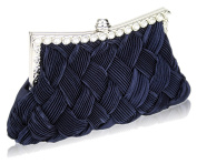 Stunning Luxury Navy Crystal Evening Clutch Bag. FOR £20.99 | FREE UK DELIVERY | SAVE 70%