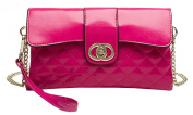 S-Kiven 2016 Fashion Women's First layer of Genuine Leather Envelope Handbag Lady's Evening Clutch Bag Girl's Purse