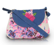 Pick Pocket Pink Floral Sling Bag
