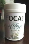 Focal natural deodorant powder 24 hr. protection, hypo-allergenic, fragrance free 50 g
