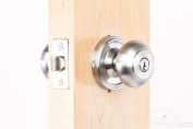 Weslock 00640IDIDSL23 Impresa Knob, Brushed Chrome by Weslock