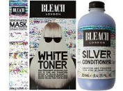 (3 PACK) Bleach London Reincarnation Mask 200ml & Bleach London White Toner Kit & Bleach London Silver Conditioner 250ml