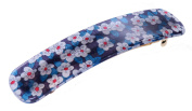 Liberty Blue Mitsy Hair Clip | Handmade in France