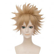 LanTing My Hero Academia Flaxen Brown Short Styled Woman Cosplay Party Fashion Anime Human Costume Full wigs Synthetic Hair Heat Resistant Fibre
