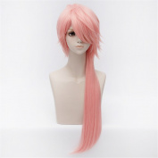 LanTing Touken Ranbu The Sword Dance Souza Samonji Pink Long Styled Woman Cosplay Party Fashion Anime Wig