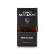 Beard Brush by Percy Nobleman - made from Oiled Austrian Pear Wood - 100% Boar Bristle Brush for Men