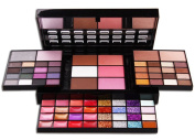 PhantomSky 74 Colours Eyeshadow Palette Makeup Contouring Kit Combination with Lipgloss, Blusher, Press Powder and Concealer - Perfect for Professional and Daily Use