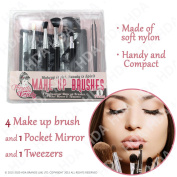 Professional Make-up Brushes Set-Complete Cosmetic Set to Perfect your Makeup Skills & Technique