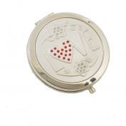 Compact Mirror LOVE Design