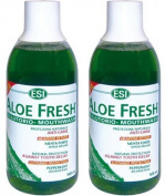 (2 Pack) - ESI - Aloe Fresh Mouthwash ESI-MW500 | 500ml | 2 PACK BUNDLE