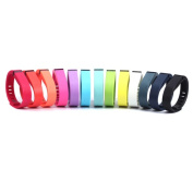 Replacement Coloured Wristbands for Fitbit Flex-Black