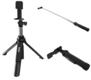 3 In 1 Wireless Bluetooth Selfie Stick Tripod Extendable Self-portrait Monopod For IOS Android