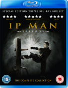 The Ip Man Trilogy - Region B [Regions 1,2,3,4] [Blu-ray]