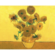 Reeves Paint by Number Artist's Collection, 30cm by 41cm , Sunflowers