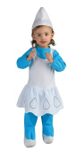 Girls The Smurfs Movie Smurfette Romper Costume