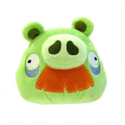 Angry Birds 20cm DELUXE Plush Toy Grandpa Pig with Moustache
