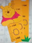 "Baby Growth Chart "" Winnie The Pooh "" and Disney Keyring Gift Set"