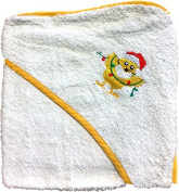 Baby Collection Hodded Bath Towel Robe Choice of Colours