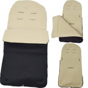 Footmuff / Cosy Toes Compatible with Bugaboo Sand