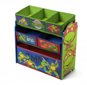 Delta Children Multi-Bin Toy Organiser, Nickelodeon Ninja Turtles