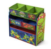 Delta Children Multi-Bin Toy Organiser, Nickelodeon Ninja Turtles