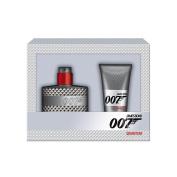 James Bond 007 Quantum Gift Set contains Eau de Toilette Spray 30 ml and Shower Gel 50 ml