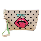 Contever® Protable Fashion PU Wash Bag Make-up Storage Bag Toiletry Travel Hand Bag For Women Lady Girl - Style 4