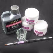 Ularma Pro Simply Nail Art Kits Acrylic Liquid Powder Pen Dappen dish Tools Set