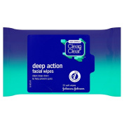 Clean & Clear Deep Action Medicated Facial Wipes