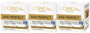 3 x 50ml LOreal Paris Age Perfect Re-hydrating Night Cream