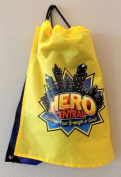 Vacation Bible School 2017 Vbs Hero Central Drawstring Backpack with Cape