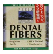 Peelu Dental Fibres Tooth Powder, Spearmint, 15ml
