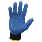 KCC40226 - Kleenguard G40 Foam Coated Nitrile/nylon Gloves, Medium/8, Blue, Pair