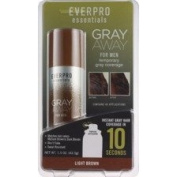 lot of 3 Everpro Essentials Grey Away for Men, Light Brown