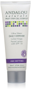 Andalou Naturals Ultra Sheer SPF 18 Daily Defence Facial Lotion, 80ml