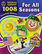 Teacher Created Resources 4224 Teacher Created Resources Sticker Books, for All Seasons, 1088Stickers/pack