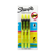 Sanford Sharpie Accent Pen-Style Retractable Highlighter, Fluorescent Yellow