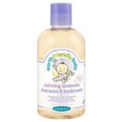 Earth Friendly Baby Calming Lavender Shampoo and Bodywash 250ml