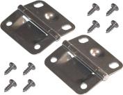 Coleman Cooler Stainless Steel Hinges & Screws - #6155-5741