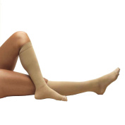 Truform 8808s, Anti-Embolism Compression Stockings, Below Knee, Closed Toe, Short-length, 18 mmHg