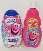 Mr. Bubble 3 IN 1 Body Wash, Shampoo, Conditioner, Original Bubble Bath