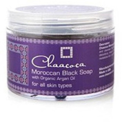 Chaacoca Moroccan Black Soap with Organic Argan Oil