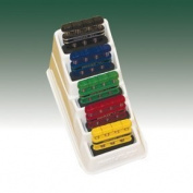 Cando DigiFlex Colour-coded Finger/Hand Exerciser - 5 pc Set with display by Fabrication Enterprises