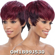Saga Remy Human Hair Wig - CRANBERRY (OT27) by Saga
