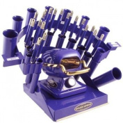Golden Supreme Iron Stove Rainbow Styling Set Purple by Golden Supreme