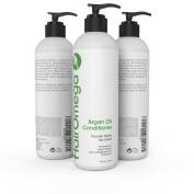 Hairomega Argan Oil DHT Blocker Conditioner for Hair Loss and Dandruff - Supports Healthier, Stronger, Longer Hair Growth